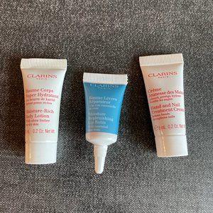 [NEW] Clarins Skincare Set (Cream, Lotion, Balm)